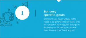 Set specific goals